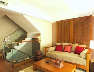 和谐舒适东南亚风格设计别墅装潢案例