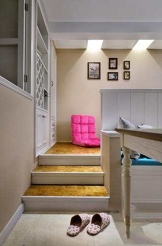 78平清新北欧小复式室内装饰设计效果图
