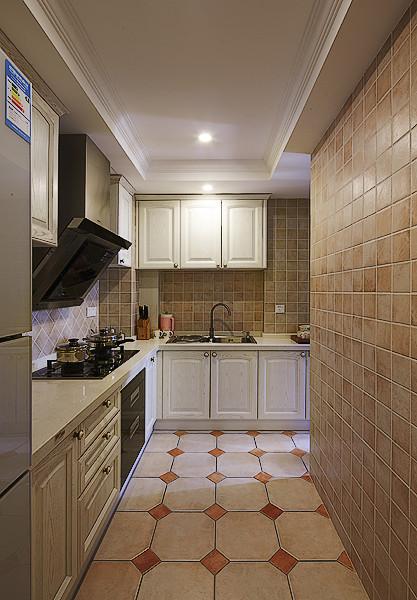 美式风格家装厨房吊顶效果图
