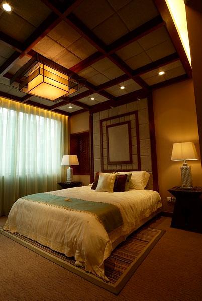 东南亚风格经典卧室设计效果图片