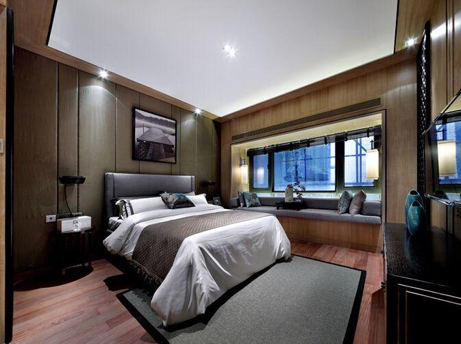 时尚美式新古典风格卧室效果图