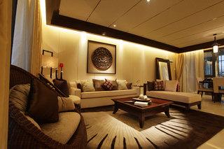 古典豪华中式风格三居设计装修效果图
