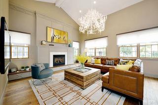 时尚小清新复古美式别墅装修设计欣赏