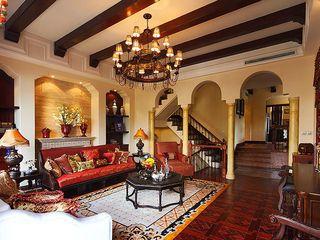 高贵大气复古欧式风格别墅家居装修效果图