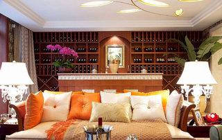 东南亚风格豪华别墅室内装修设计图片