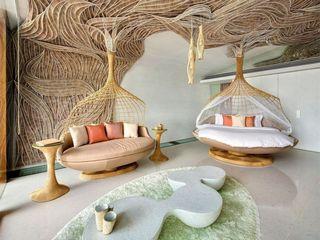 自然别开生面的东南亚现代风格别墅装修图
