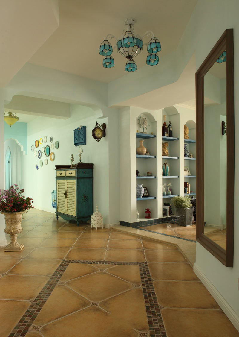 美式风格别墅室内家装设计效果图片