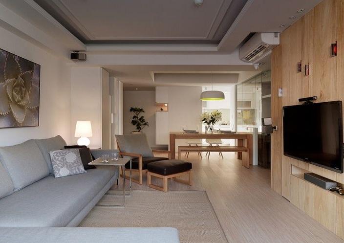 简约清新宜家风格公寓家装设计效果图片