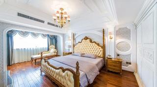 唯美欧式新古典主卧室效果图
