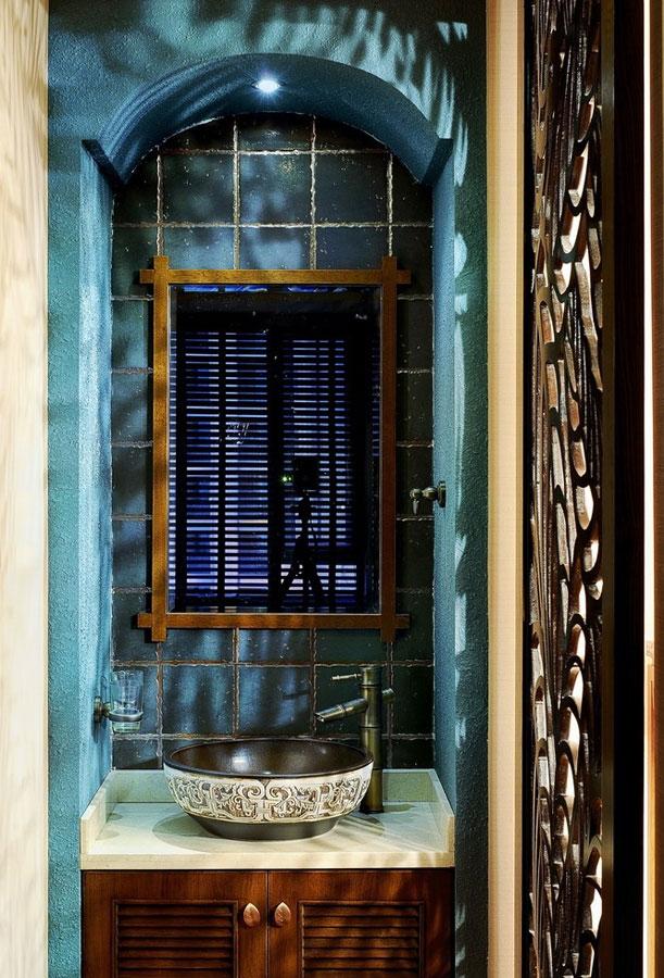 古典欧式风格洗手间装修效果图