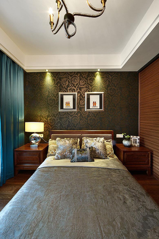 异域东南亚风格卧室家装效果图片