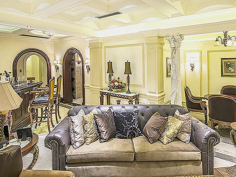 古典欧式风格客厅设计图