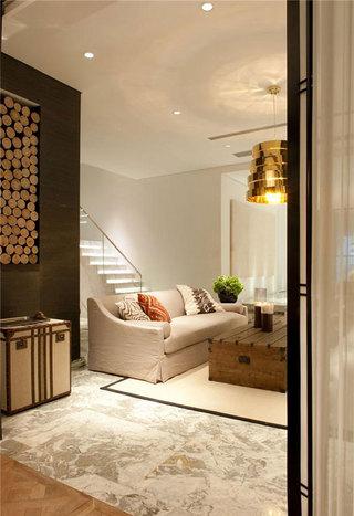 个性创意简约时尚混搭别墅设计效果图