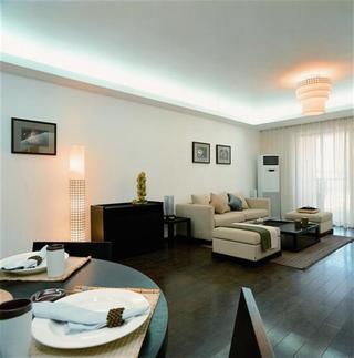 儒雅中式风格二居室设计美图欣赏