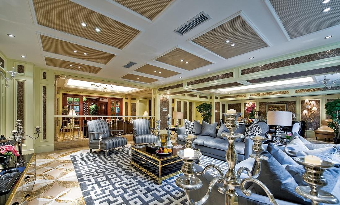 顶级宽敞豪华欧式风格别墅装修欣赏美图