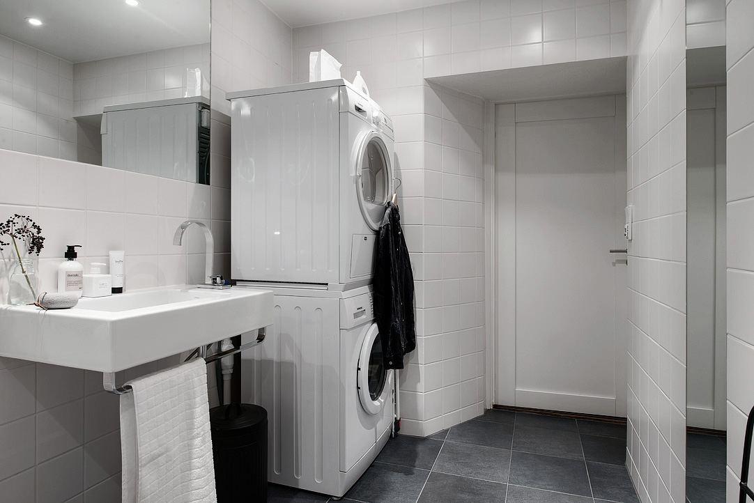 光鲜明亮北欧风格卫生间装潢效果图