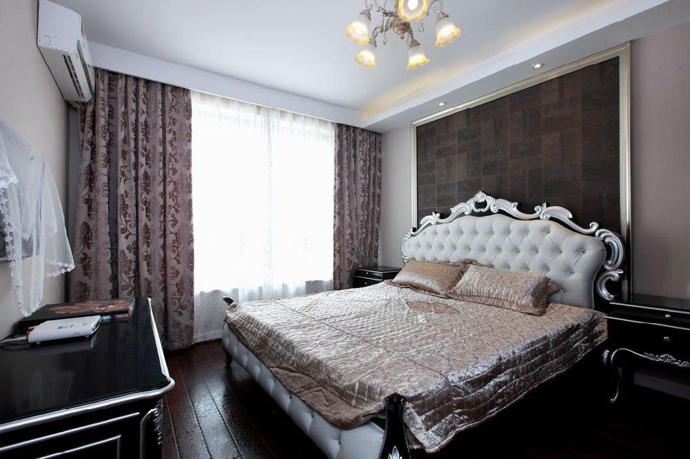 新古典欧式风格卧室室内装饰效果图