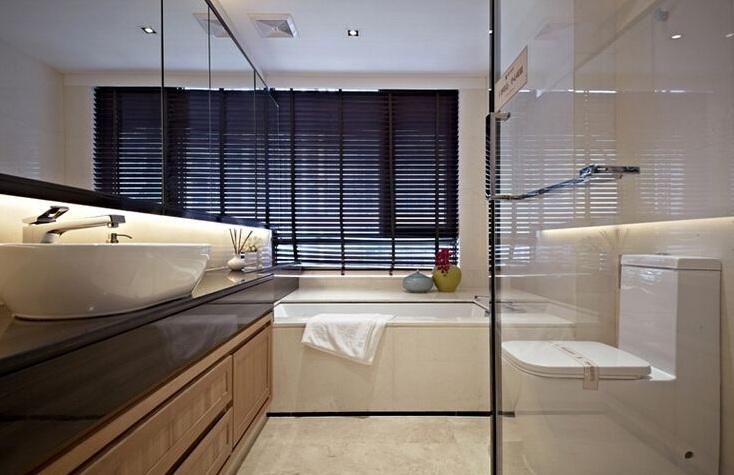 简约时尚现代卫生间设计装潢效果图