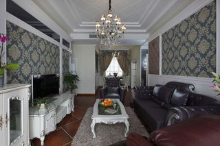 8万打造简欧风格三居室装潢案例