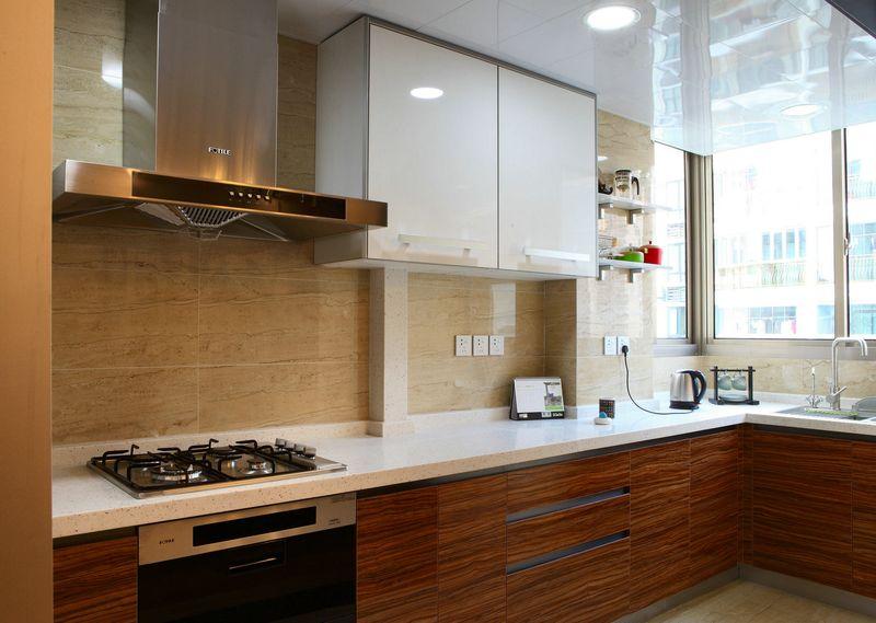 时尚现代风格厨房设计装潢效果图