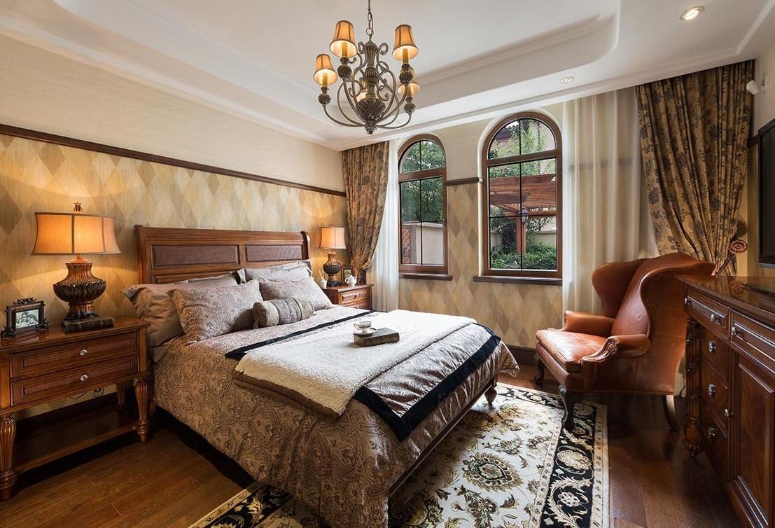 奢华经典复古欧式卧室效果图