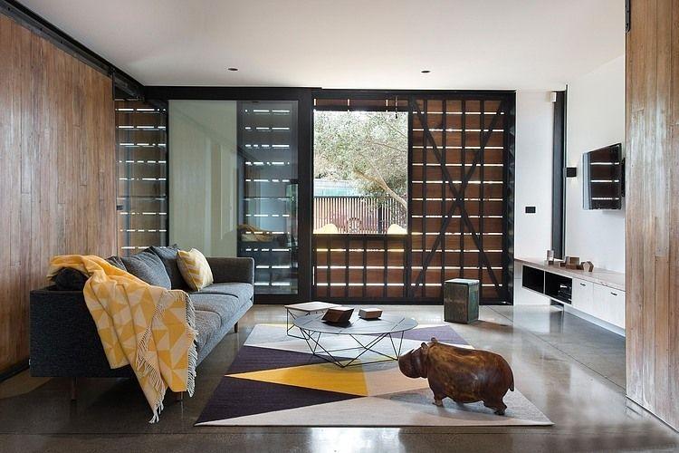 现代休闲田园风格复式楼设计效果图片