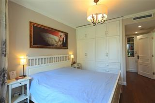 美式简约卧室装饰图