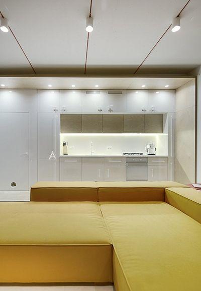 简约时尚北欧风格一居室沙发装饰欣赏图