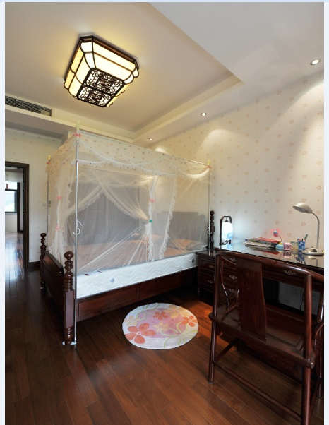 古典中式风格卧室装饰效果图欣赏