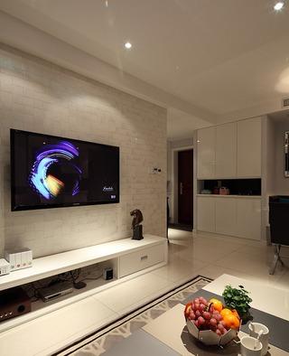 108平时尚现代简约三居室装修效果图