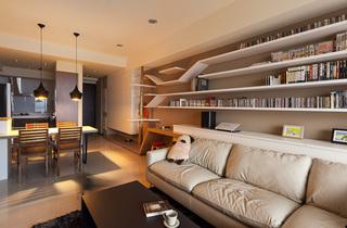 简约MUJI装修风格二居客厅装修大全