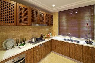 雅韵新古典厨房橱柜效果图