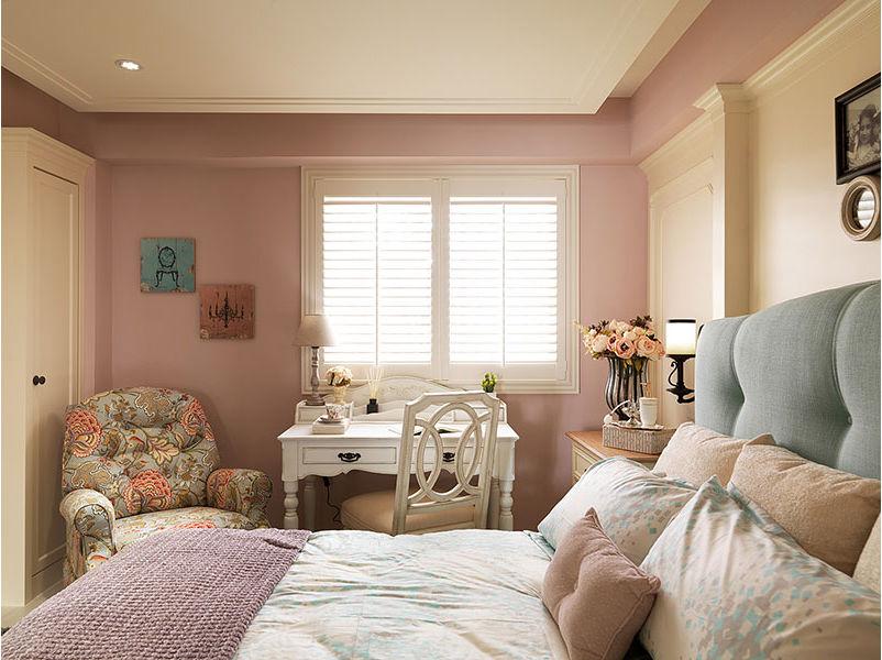 温馨浪漫美式风格卧室设计装修效果图
