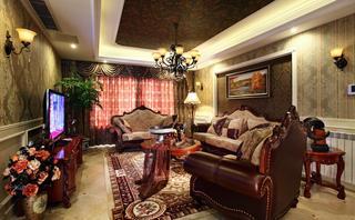 高贵欧式复古风格别墅设计装潢美图欣赏