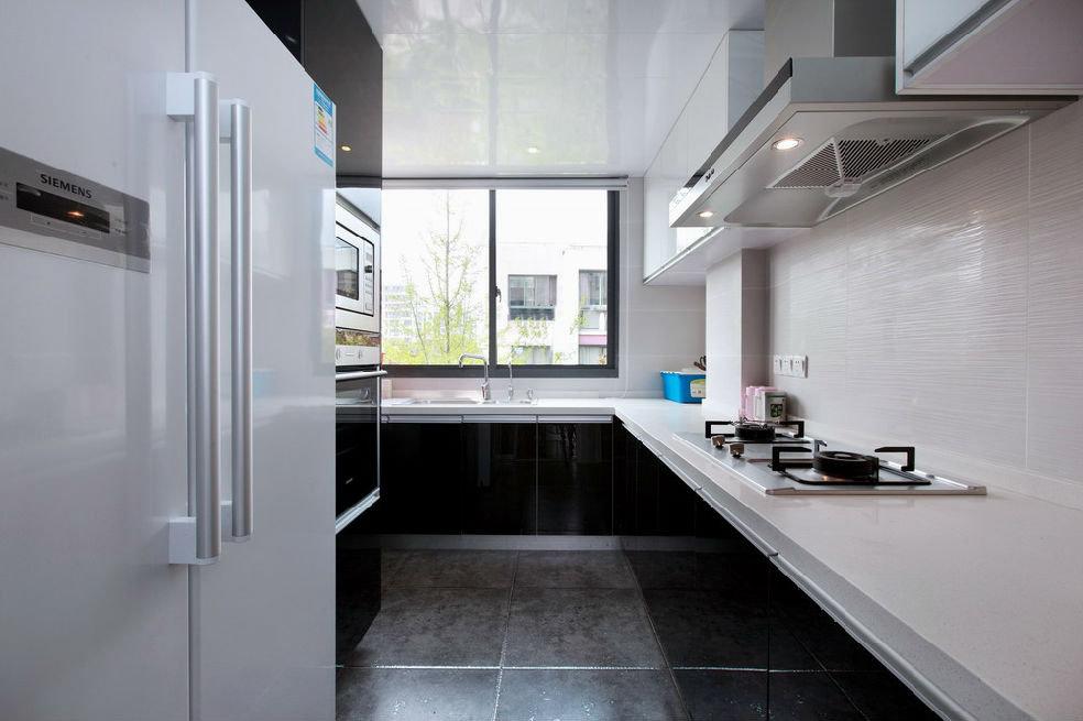 简洁现代风家居厨房装修效果图