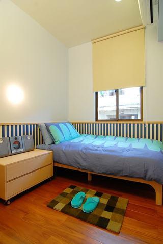 明亮洁净现代风格儿童房装潢效果图