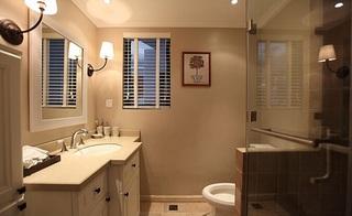 简约小户型卫生间窗户图片