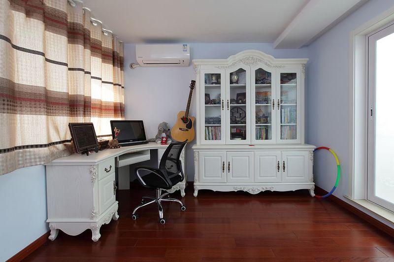 时尚简欧风格设计书房室内装修效果图