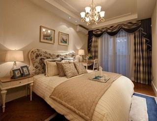 低奢舒适简欧卧室图片