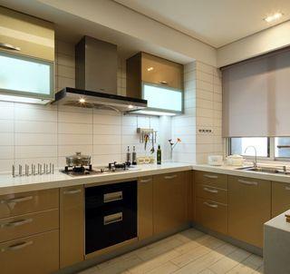 清雅含蓄现代风格厨房室内设计装潢效果图