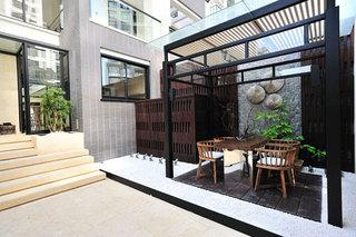 新中式风格入户花园设计欣赏图