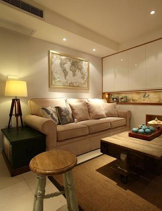 舒适宜家北欧风98平三居室设计