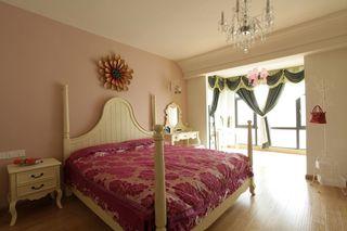 自然温馨田园风格卧室设计装饰效果图片