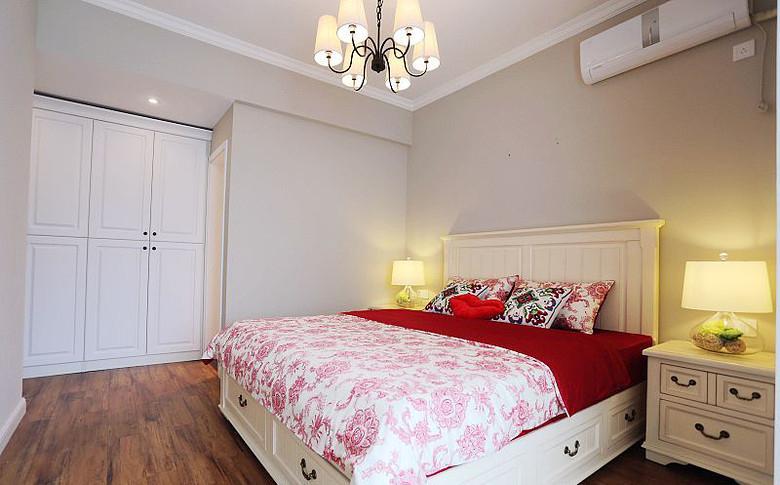 简约美式风格卧室效果图