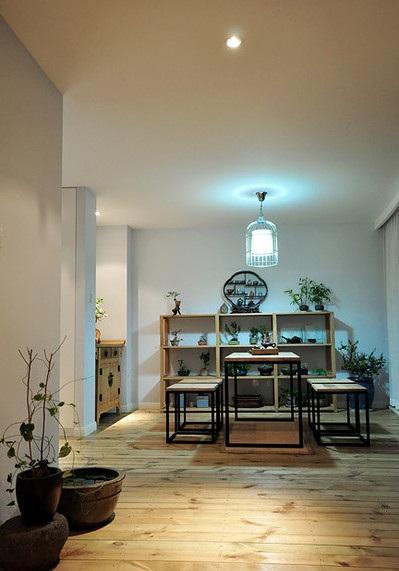 创意中式风格餐厅设计装饰效果图