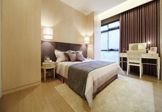 现代简约风格设计三居卧室装修案例图片欣赏