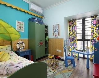 缤纷现代儿童房装修效果图