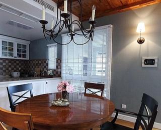 浪漫美式室内餐厅吊灯图片