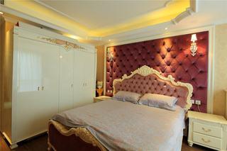 豪华大气卧室背景墙装饰效果图