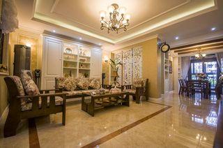 200平米田园风格四居室室内设计案例图片